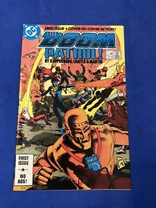 DOOM PATROL #1 ~ KEY ~ Robot Man STEVE LIGHTLE COVER HBO MAX DC Comics 1987