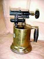 Vintage Lakeside Guaranteed Blow Torch #6 is Stamped on the burner head