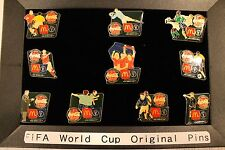 2002 FIFA SOCCER WORLD CUP 10 PIN SET KOREA / JAPAN MCDONALDS COCA COLA olympic