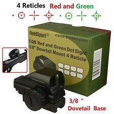 Field Sport  Red and Green Micro Dot Sight 3/8 Dovetail For Air Soft