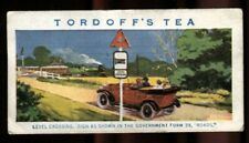 More details for trade card, john tordoff & son, safety first, 1926, level crossing sign, #6