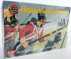 Airfix Historical Mini 1/72 British Infantry - Waterloo SW