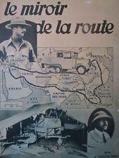 Le MIROIR de la ROUTE an 1931 ///// La croisière JAUNE, Gaston GERARD, COMMINGES
