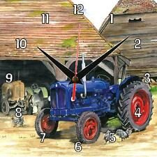 No.14 Fordson Major Tractor Sue Podbery Wall clock official, great gift present