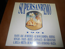 SUPERSANREMO 1991 - FONIT CETRA 9031 74066-1 - DISCO IN VINILE 33 GIRI