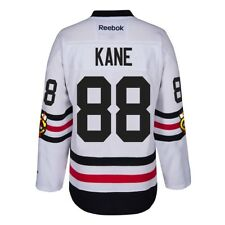 Patrick Kane Chicago Blackhawks NHL White 2017 Winter Classic Premier Jersey