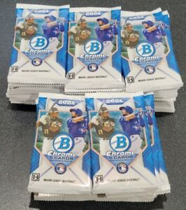 2021 BOWMAN CHROME HOBBY PACK - see description - 1 pack/5 cards