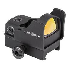 Sightmark SM26006 Mini Shot Pro Spec Red Dot Reflex RMR Sight w/ Picatinny Mount