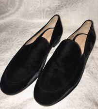Gianvito Rossi shoe Black Velvet Loafer  size 40 New