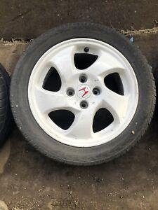 "Honda Civic EK4 VTI 4x100 15"" Fanblade Alloy Wheel VTI-S single Needs Refurb"
