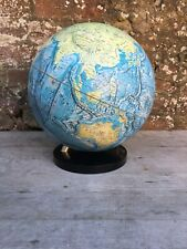Vintage National Geographic Physical Globe Map on Stand Rare 1979 Excellent Cond