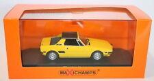 Voitures, camions et fourgons miniatures jaunes pour Fiat 1:43