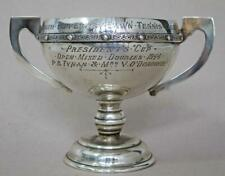 SUPERB IRISH STERLING SILVER CELTIC TROPHY CUP TIPPERARY LAWN TENNIS 142g