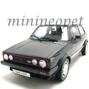 WELLY 18039 VW VOLKSWAGEN GOLF 1 GTI 1/18 DIECAST MODEL CAR BLACK