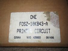 NOS NEW 1993 1994 1995 FORD PROBE DASH CLUSTER CIRCUITBOARD ASBY F32Z-10K843-A