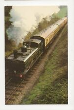 GWR Locomotive 6412 In The Cutting Old Postcard  237a