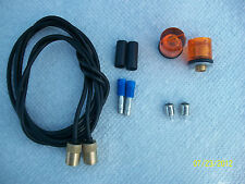 MOPAR PLYMOUTH GTX/ROADRUNNER DODGE DART BULLET TURN SIGNAL LENSES,WIRES,BULBS