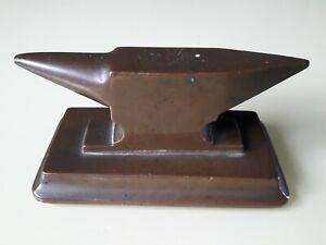 Ancienne Enclume De Bijoutier En Bronze