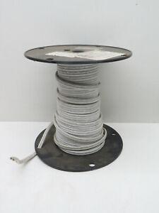 (35ft) Cerrowire 16AWG Stranded 16/2 White SPT-2 Lamp Cord Wire 300V #16 Gauge