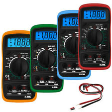 Digital Display Multimeter Ac/Dc Voltmeter Ammeter Ohmmeter Diodes hFe Meter Us