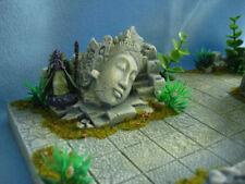 Jungle Goddess Rash'nar Unpainted Ceramic Thomarillion Terrain Dwarven Forge