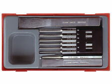 Teng Tools 9 Piece 6 X Parallel Pin Centre Punches & Flat Cold Chisel Tool Set