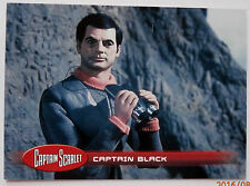 CAPTAIN SCARLET - Individual Trading Card #17, Captain Black - Unstoppable 2015