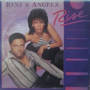 RENE & ANGELA - Rise ~ VINYL LP USA PRESS
