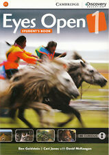 Cambridge Discovery Education EYES OPEN Level 1 (A1) Student's Book @NEW@