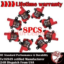 8 Ignition Coil Pack for Chevy Silverado 1500 2500 GMC 5.3/6.0L/4.8L UF-262 D585