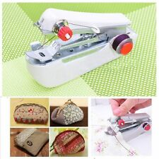 Portable Mini Handheld Travel Stitch Sew Sewing Machine Desktop Home Household