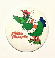 """Phillie Phanatic * Vintage Pinback Pin Badge Button 3"""" * Combine Shipping!"""