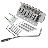 10.5mm Guitar Tremolo Bridge Assembly with Whammy Bar for  ST Squier SQ
