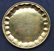 Kingdom of Saudi Arabia Souvenir Brass Tray - OEF Souvenir