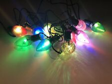 10 Count Color Changing Christmas LED String Lights Plug-In