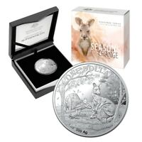 2019 Kangaroo Seasons Change - Autumn 1oz Silver Proof Coin