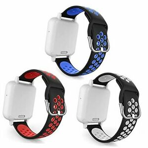 """3 Packs Compatible with Gizmo S: 5.9""""-7.6"""" Black/Red,Black/White,Black/Blue"""