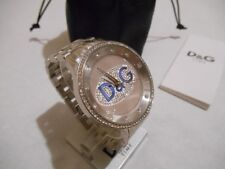 Man watch diamante dolce & gabbana d&g mens prime time swarovski diamond watch