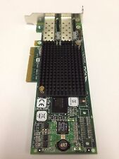 HP Emulex LPE12002  8GB Dual Port PCI-E Low Profile Bracket 489193-001 AJ763A