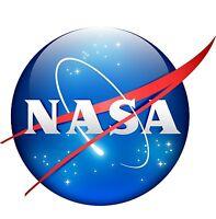 NASA Meatball Logo Vinyl Sticker Car Window Decal Bumper Sticker High Gloss