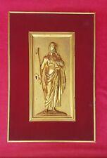XIXeme - Porte de Tabernacle en Bronze Dorée - Jesus Christ Eglise Autel Statue