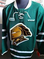 LONDON KNIGHTS AUTHENTIC CCM BLANK JERSEY BNWT OHL CHL  ADULT SIZES AVAILABLE