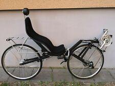 Liegerad Liegefahrrad Fahrrad Recumbent Knicklenker Flevo Bike Racer Nabendynamo