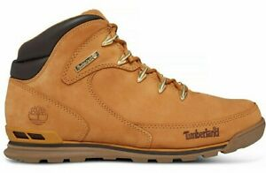Timberland Men's Euro Rock Mid Hiker Boots in Wheat
