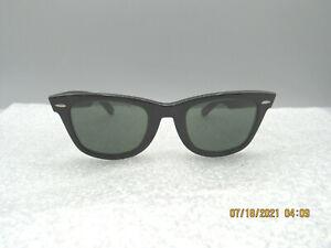 Good Vintage B and L Ray - Ban Sunglasses Model Wayfarer, Made in USA