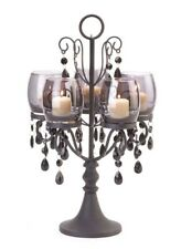 HOME LIGHTING DECOR MIDNIGHT ELEGANCE CANDELABRA