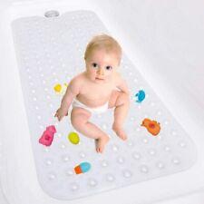Bath Tub Mat, Anti Slip Bath Mat with Suction Cups for Bathroom Tub (Clear)