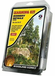 Woodland Scenics - LK956 - Scenery Details Learning Kit  NEW
