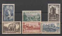 FRANCOBOLLI - 1938 FRANCIA VEDUTE E SOGGETTI VARI MNH + MLH Z/9756