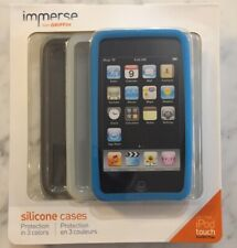 Griffin immerse Apple iPod touch 2nd Generation Silicone Case 3 Pack